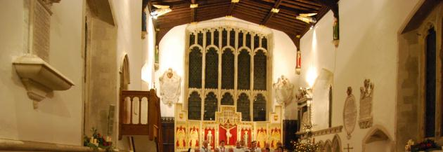 Chancel at night