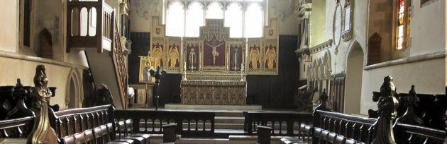 Chancel in daytime