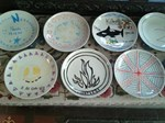 Individually designed plates