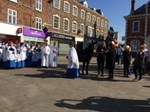 Palm Sunday 2017 at the Market Cross.JPG